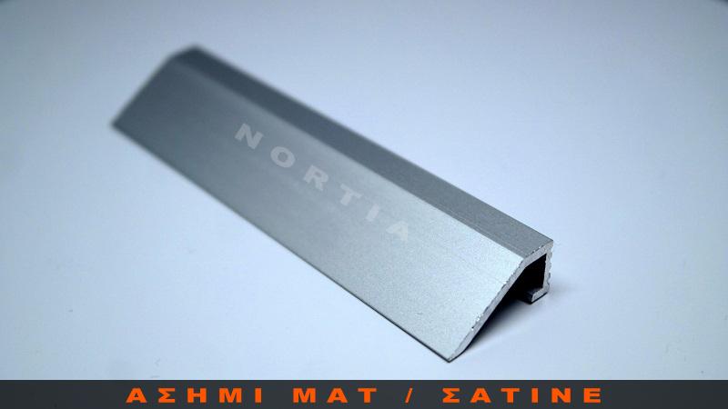 προφιλ διαφορα υψους δαπεδων 10mm- Nortia